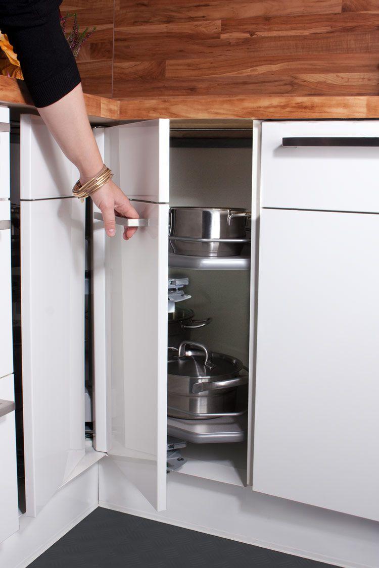Eckschrank Küche - Küche kaufen Küchenstudio Küchenplaner ...